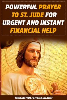 Powerful Prayer To St. Jude For Urgent And Instant Financial Help – The Catholic… – My Pin's St Jude Novena, St Jude Prayer, God Prayer, Power Of Prayer, Prayer For Financial Help, Financial Prayers, Prayer For Work, Prayer For Husband, Miracle Quotes