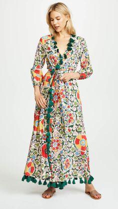 Rhode Resort Lena Robe Wrap Dress  ad  tassels  newarrivals  summeroutfit   spring c3b9fe9cce7