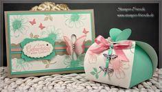 Geburtstagsset - Karte und Geschenkverpackung, selber basteln, Stampin' Up