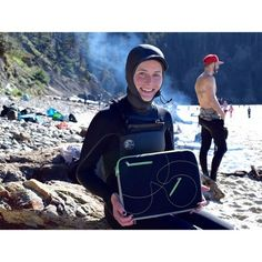 From wetsuits to laptop sleeves, our neoprene has surfers on the Oregon Coast covered!