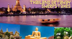 Gate 1 Travel Land of Smiles Thailand Getaway Sweepstakes. Visit GiveawayHop.com for more #sweepstakes and #giveaways