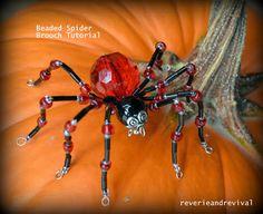 5 DIY Tutorials for Creating Delicate Beaded Spiders | Brandywine Jewelry Supply Blog