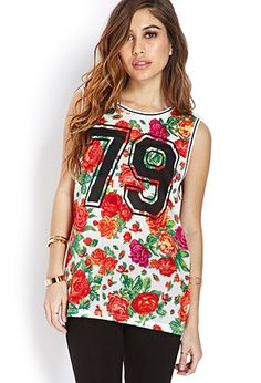 Fresh Roses Jersey Top | FOREVER21 - 2000070876