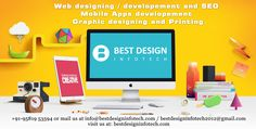 Best Design InfoTech is a Hyderabad based Web & Graphic Design and Development company. We are one of the leading designing companies in Hyderabad. We also have clients all over India. Started in 2012 we have quickly gained respect and admiration from our clients for delivering quality work within the timeline desired by them. We have developed close and happy relations with our clients and they have at various times described their satisfaction with our work culture