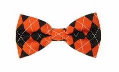 Clip On Bow Ties, Boys Bow Ties, Tie And Pocket Square, Baby Bows, Orange, Awesome, Unique Jewelry, Handmade Gifts, Cotton