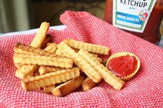 French fries, anyone? (shhh... this is actually made from frozen pound cake ;))