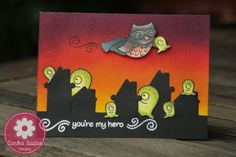 Sandra Bastus Designs: You're my hero - Lawn Fawn city it's in danger!