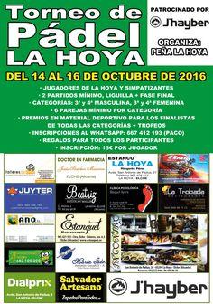 Salvador artesano zapaterías colaborador del torneo de Pádel la Hoya