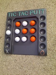 Vtg TIC TAC PUTT A UNIQUE GOLF PUTTING FAMILY GOLFING GAME COMPLETE IN BOX #CLUBPROPRODUCTS