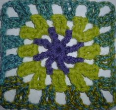 The 8th Gem: Granny Square A Pattern a week for 2013