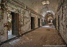 Holmesburg Prison, Philadelphia PA - Photography by Matthew Christopher Murray's Abandoned America