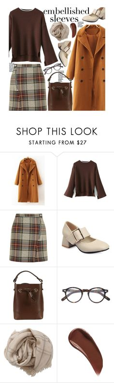"""Make a Statement: Embellished Sleeves (work wear)"" by beebeely-look ❤ liked on Polyvore featuring Topshop, Furla, Moscot, Brunello Cucinelli, Sisley, WorkWear, preppy, streetwear, twinkledeals and embellishedsleeves"