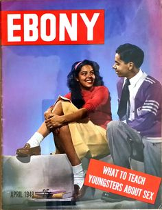 Black Culture — louxosenjoyables: Ebony Magazine, April 1948 by. Jet Magazine, Black Magazine, Ebony Magazine Cover, Magazine Covers, Old Magazines, Vintage Magazines, Vintage Photos, Essence Magazine, Vintage Black Glamour