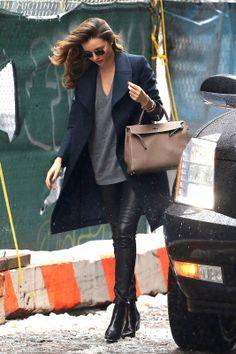 Street Style... Miranda Kerr