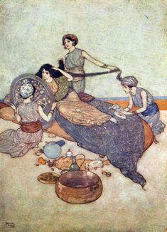 Edmund Dulac - Arabian nights