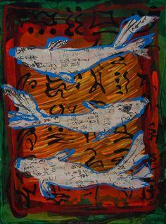 FISH ICONS by Brenda Drake