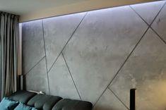 Tynki Farby Dekoracyjne: Beton dekoracyjny szeroka fuga