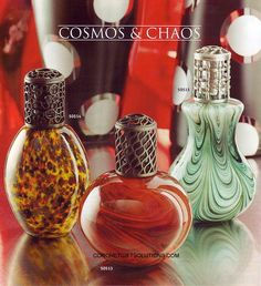 fragrance lamps...well, no, not really my style, but still...