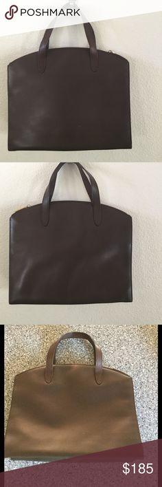 Vintage Gucci Tote Used and authentic. This is vintage item. Scuff on one side, other that that the bag is in great condition. Interior is in good condition. Not sticky but there are some scuffs. Awesome bag to carry as your business bag. Gucci Bags