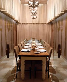World Class Environment by UXUS dining room uxus