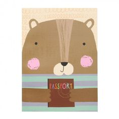 Bear A5 thick exercise book buy it for £4.50 at Paperchase