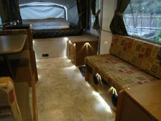 LED's in camper