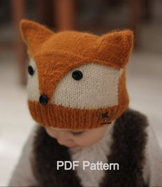 Knitting for Fox Hat More