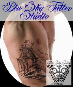 Blu Sky Tattoo Studio: Old School 3