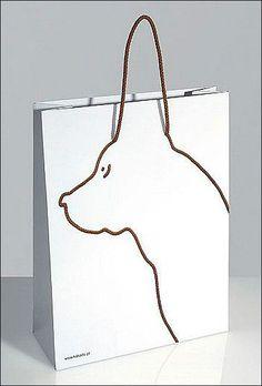 Doggy Boutique Shopping Bag
