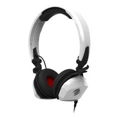 Mad Catz F. M Mobile Stereo Headset for PC/Mac, iPhone 7 , Android, Samsung Mobile Device - Foldable Headphones in Gloss White Smartphone, Samsung Mobile, Office Phone, Landline Phone, Headset, Cell Phone Accessories, Iphone 7, Headphones, Wire