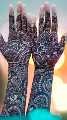 SOMYAA..SPECIAL MEHANDI WITH Ashissh Sethi bridal henna Check out more desings at: http://www.mehndiequalshenna.com/