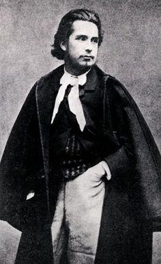 Claude Monet, Claude MONET phographié à l'age de 18 ans
