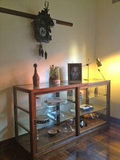 Glass cabinet Home Furniture, Entryway Tables, Cabinet, Glass, Home Decor, Clothes Stand, Decoration Home, Home Goods Furniture, Drinkware