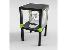 Ikea Hack Lack Enclosure by EugenioFructuoso 3d Printing Diy, Ikea Lack, Diy Cnc, Impression 3d, 3d Prints, 3d Projects, Future, Print Ideas, Table