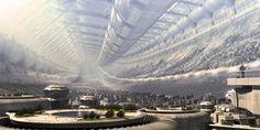 Breathtaking Future City Concept Art Truly smart and Real - Futuristic City, Futuristic Technology, Futuristic Architecture, Cyberpunk 2020, Organic Architecture, Futuristic Design, Future City, Sci Fi Stadt, Videogames