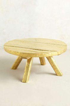 Anthropologie - Turnstool Coffee Table