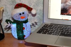 Day #5 of the Countdown to Christmas. He's so cute!