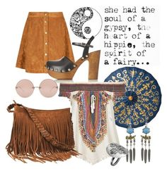 """""""Gypsy Soul"""" by lavenderwine ❤ liked on Polyvore"""