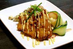 Tatsutage Fried Chicken with Spicy Yuzu Mayonnaise from Susan Feniger ...