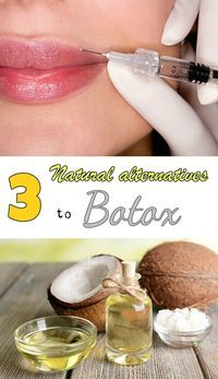 Read directions about 3 natural alternatives to Botox.