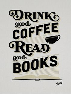 drink coffee read a book