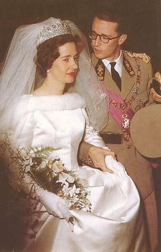 King Baudouin and Queen Fabiola of the Belgians.