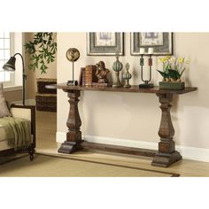 Christopher Knight Home Rustic Brown Console Table - Overstock™ Shopping - Great Deals on Christopher Knight Home Coffee, Sofa & End Tables