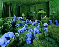 The Green House,  by Sandy Skoglund