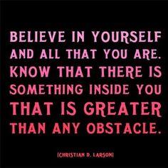 ░ Believe In Yourself ░