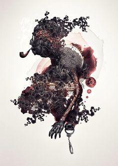 Le illustrazioni grafiche del giovane designer svedese Niklas Lundberg
