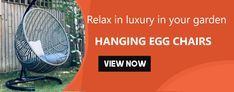 Super range of Hanging Egg Chairs & Cocoon Garden Swing Chairs That Are Unique & trendy That Provide comfoort And Ultimate Relaxation for outdoor/ indoor. Egg Swing Chair, Hanging Egg Chair, Swinging Chair, Ways To Reduce Stress, Egg Shape, Ways To Relax, Indoor Outdoor, Chairs, Eggs