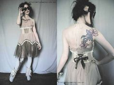 Flutterbydaisy Gallery - Handmade Dresses for broken dolls and ballerina butterflies