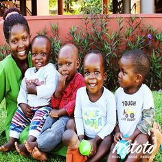 """I had expected to be met by babies running around, crying or looking for attention. Instead, I was welcomed by the beautiful gardens and lounge area, and then a set of happy and welcoming face."" Read more of Nanny Immaculate's story: http://bitly.com/nannyimmy #Watoto"