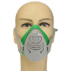 POWERCOM N3800 Anti-Polvo Del Respirador de Máscara De Gas Cartucho de Filtro de Pulverización de Pintura Nueva A Estrenar de la Alta Calidad